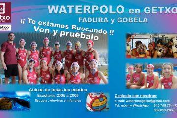 Waterpolo en Getxo Fadura y Gobela